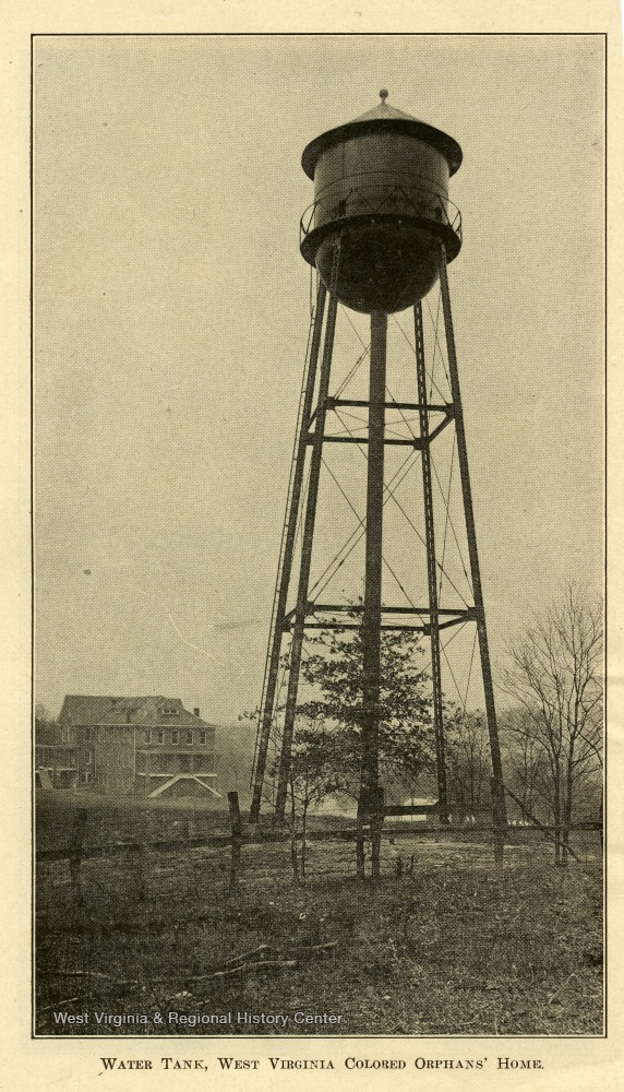 Water Tank at the West Virginia Colored Orphan's Home