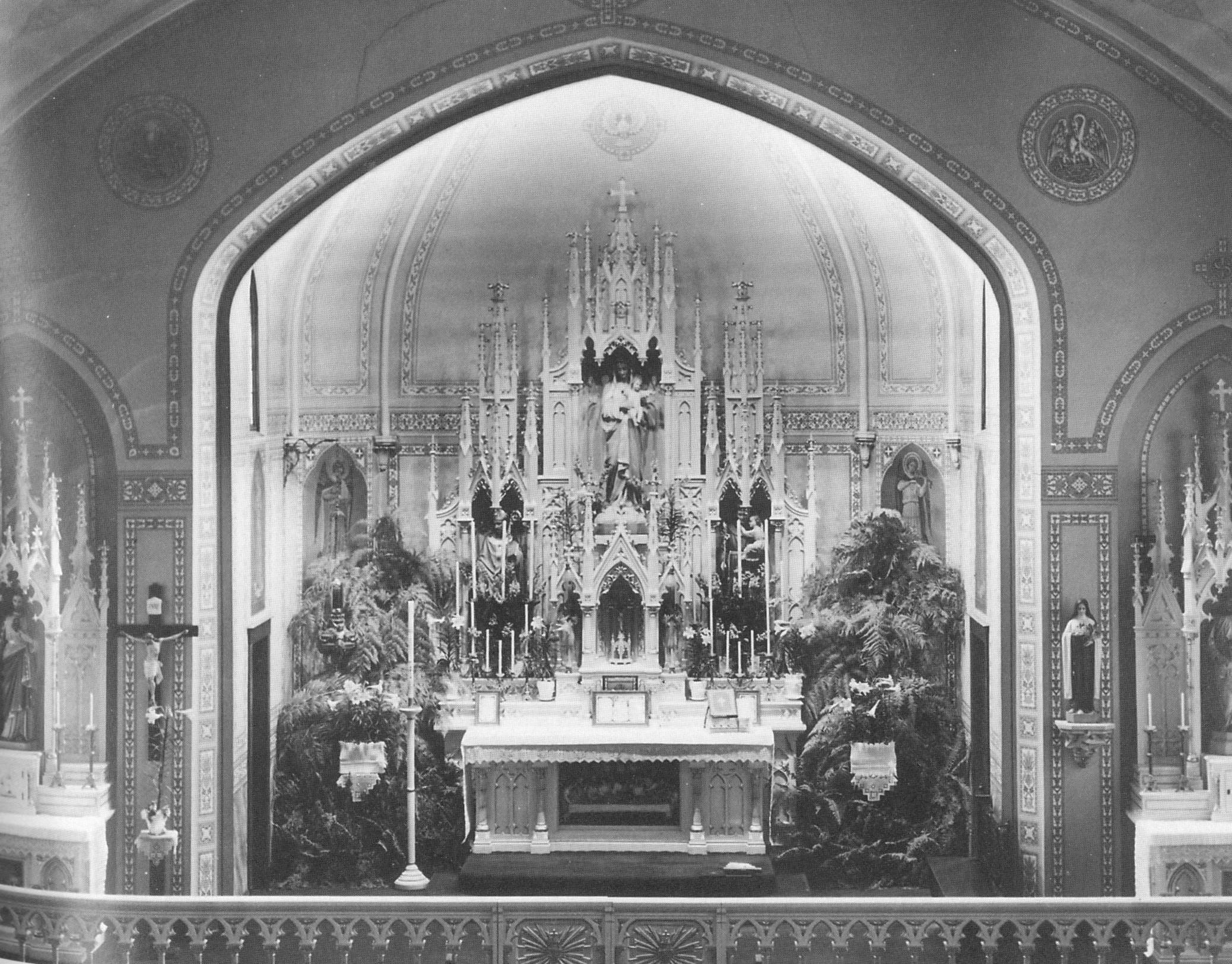 Interior of Presentation Church.
