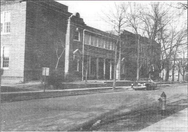The 1919 addition, circa 1950s