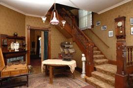Foyer of Harding Home  Harding Home, Ohio Historical Society