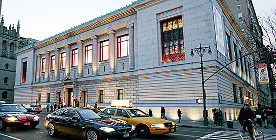 The New York Historical Society Museum and Library was established in 1804.
