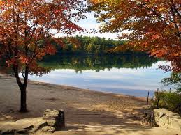 Walden Pond was designated a National Historic Landmark in 1962 for its association with Henry David Thoreau.