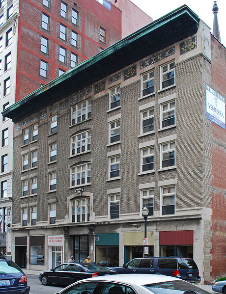 Also known as the Harmony Building, the Business Women's Club met here between 1899 and 1911