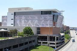 Outside view of the Muhammad Ali Center
