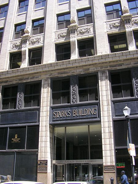 Front facade of the Starks Building