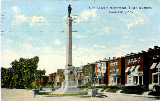 A view of the monument circa 1930