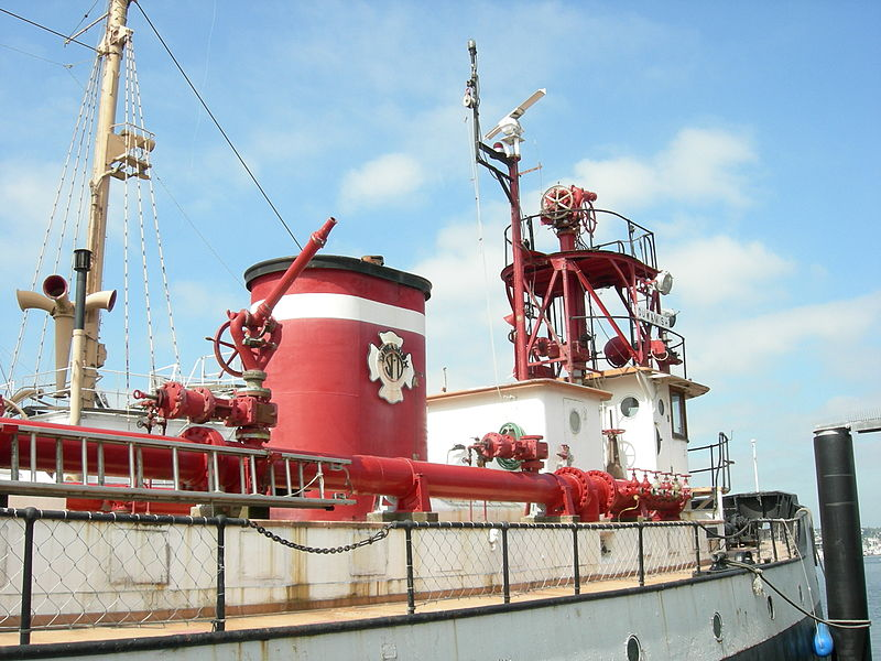 The Fireboat Duwamish