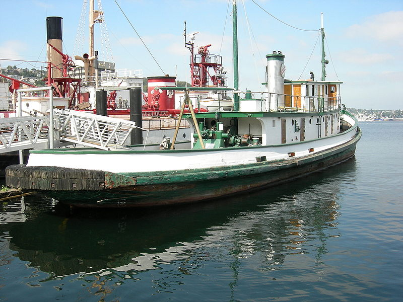Tugboat Arthur Foss is a heritage vessel-a museum ship that offers tours and public programs.