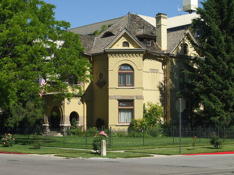 The Reed Smoot home was built in 1892.