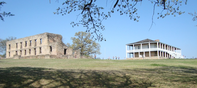 A view of Fort Washita.