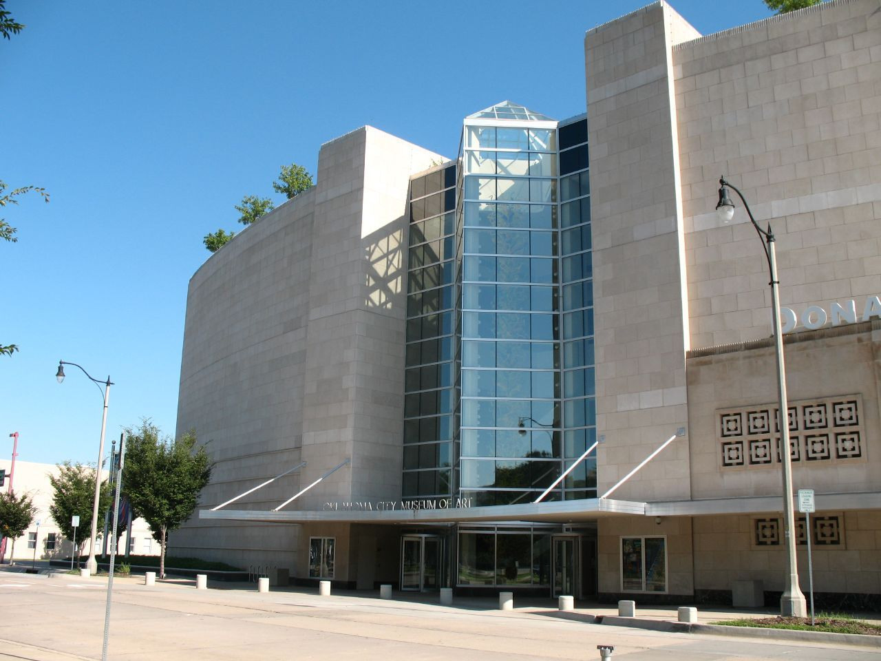 The Oklahoma City Museum of Art was founded in 1989 and built this building in 2002.