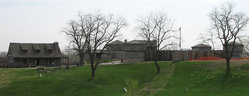Fort Osage was established in 1808, becoming the first military trading post built in the Louisiana Territory.