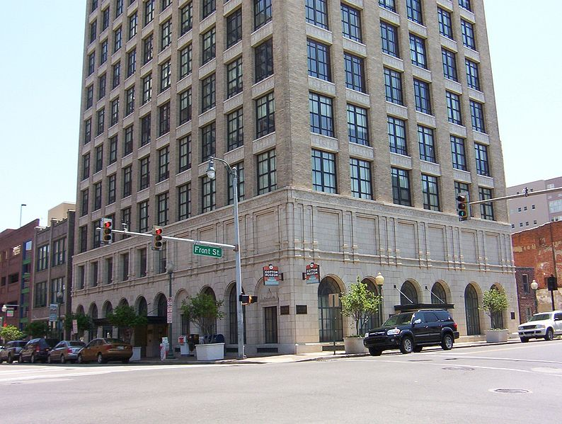 The museum is located in the historic Cotton Exchange Building downtown