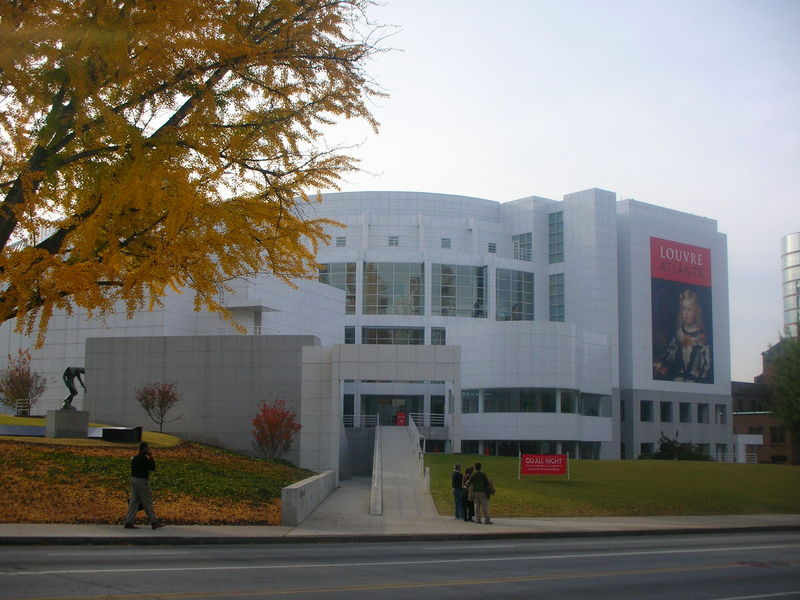 The High Museum of Art of Art was founded in 1905 as the Atlanta Art Association. It moved into the current building in 1968.