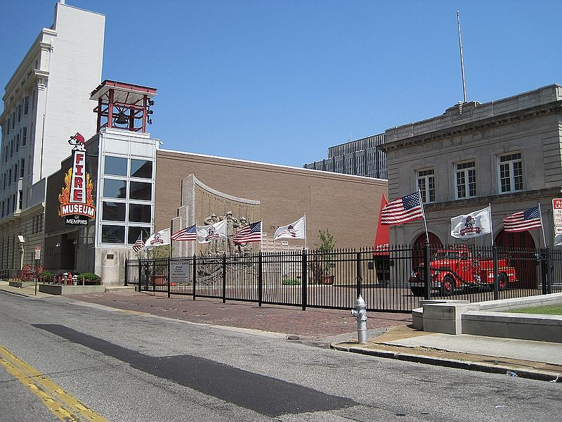 The Fire Museum is located in the renovated Fire Engine House #1 at 118 Adams Avenue in Downtown Memphis.