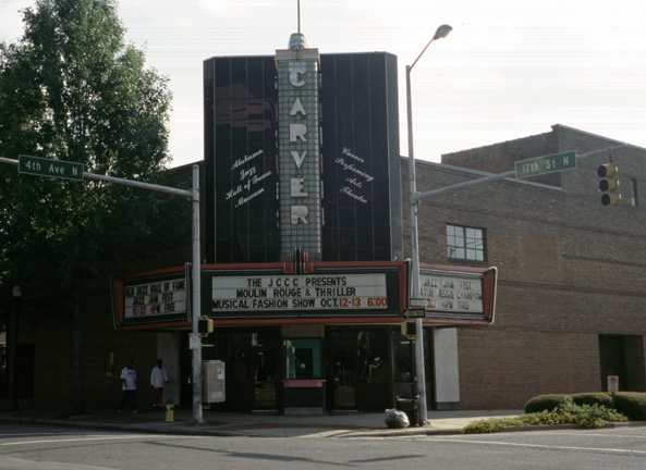 The museum is located in historic Carver Theater, a venue that has hosted jazz legends like Duke Ellington since it opened in 1935.