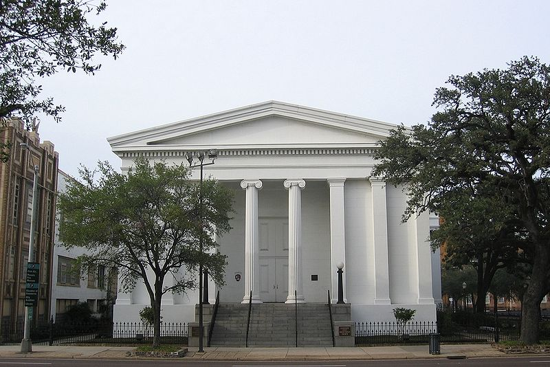 The church was completed in 1839 and remains one of the best examples of Greek Revival architecture in the United States.
