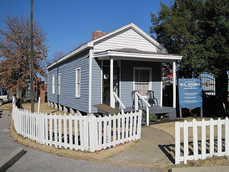 Handy's home is open for tours, but guests should call ahead to make sure this small house museum is open.