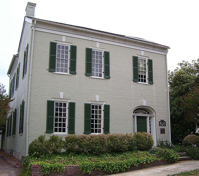Polk Home and Museum exterior