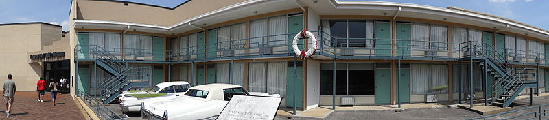 The museum is located next to the motel where Martin Luther King, Jr. was assassinated on April 4, 1968.