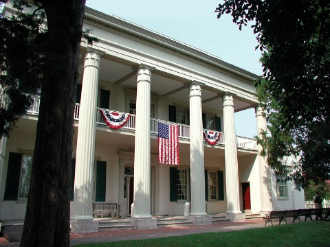 The Hermitage is open daily as a museum and includes exhibits related to the life of Jackson from his early years to his Presidency.