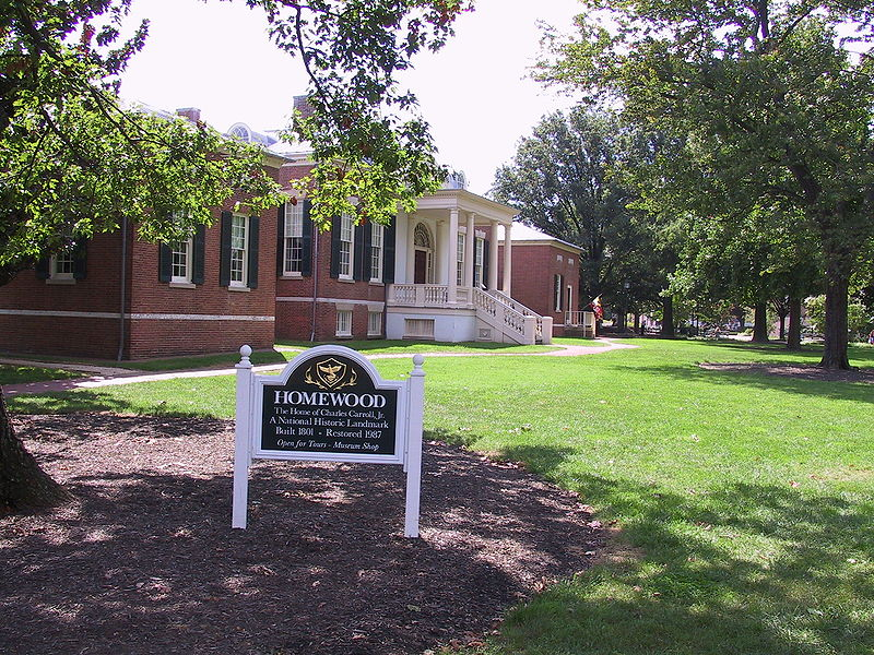 The Homewood Museum is a historical museum located on the Johns Hopkins University campus