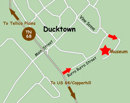 Map of Ducktown