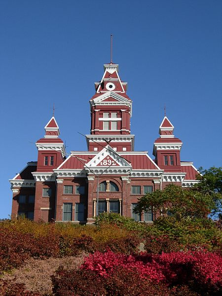 The historic Old City Hall Building was erected in 1892 and is one of three buildings that make up the Whatcom Museum.