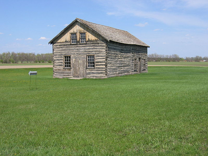 During the 1840s, this was the home and business of Antoine Blanc Gingras, a legislator and businessman of mixed European and Native American descent.