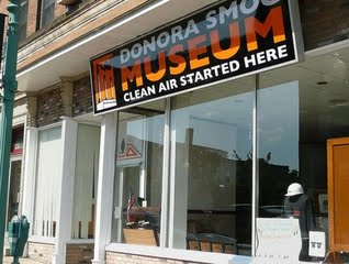 The Donora Smog Museum opened in 2008, the sixty-year anniversary of the 1948 tragedy.