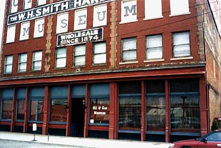 The Oil and Gas Museum, located in the historic W.H. Smith Hardware Company building.
