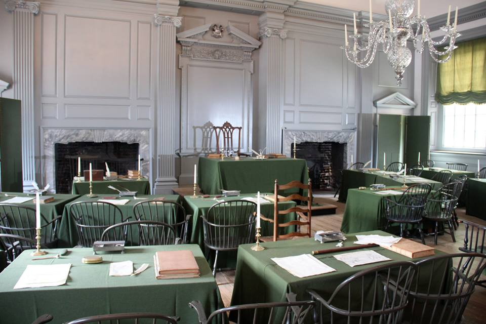 In the Assembly Room, visitors can witness the very place where the Declaration of Independence and the U.S. Constitution were both signed
