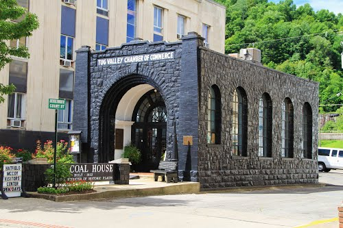This local history museum was built in 1993 using blocks of coal.