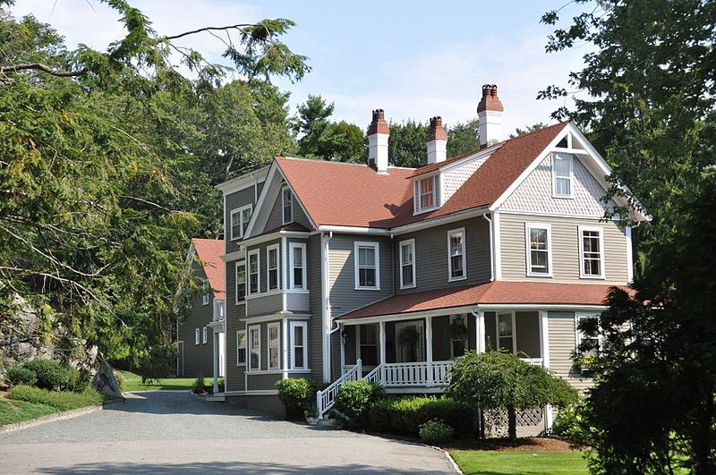 Oliver Wendell Holmes House in Beverly, Massachusetts. The only surviving structure directly and personally associated with the life of Justice Oliver Wendell Holmes, Jr.