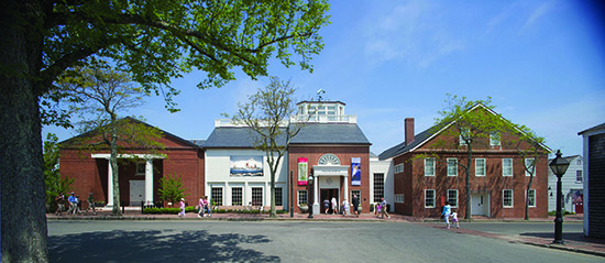 The museum is located in this historic building, a candle factory built just after Nantucket's Great Fire of 1846.