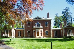 Henry Clay's mansion at Ashland in Lexington, Kentucky