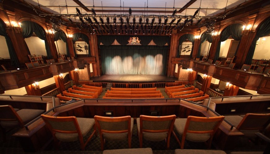Dock Street Theatre Interior