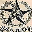 The insignia of the USS Texas