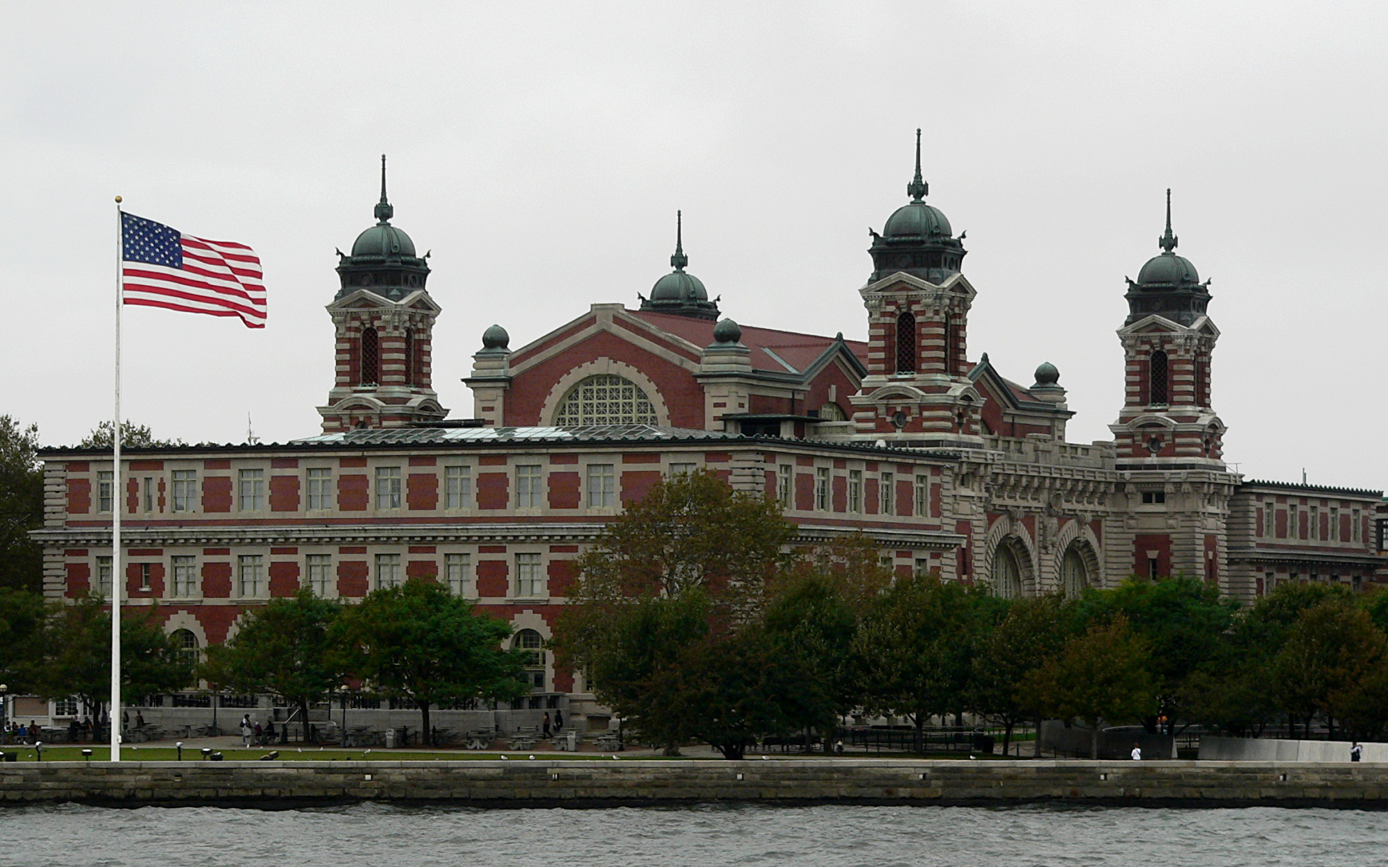 Main Building of the Federal immigration station which now houses the Immigration Museum, since September 10, 1990.