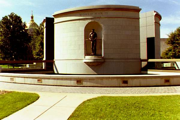 Picture of the memorial itself. This and the next five photos were all taken by P. Joseph Mullins.