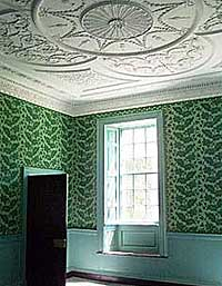 Inside the plantation home