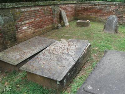 Some of the Gordon Family graves