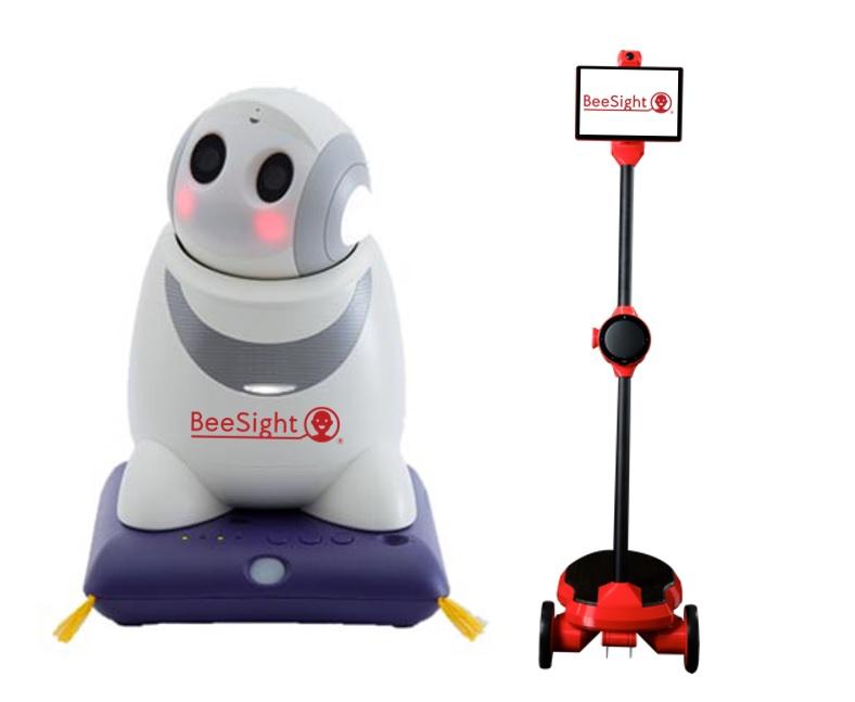 顔認識BeeSightの組み込みロボット