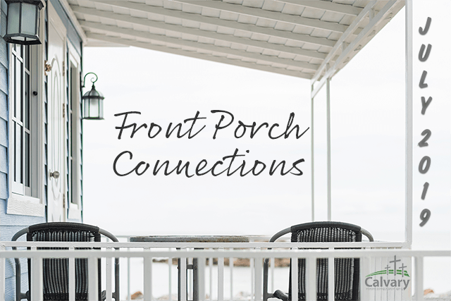 Front Porch Connect Groups