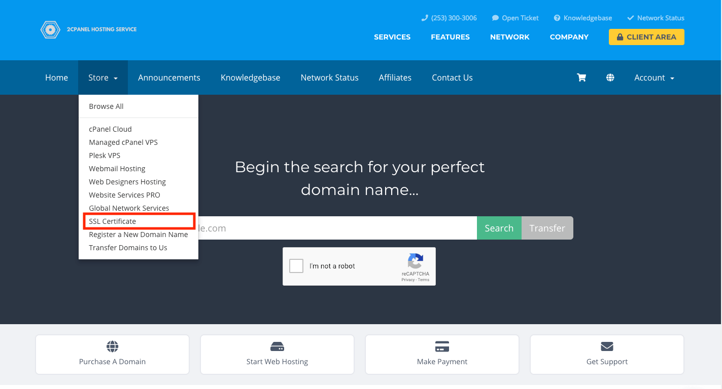 Web Hosting Magic SSL Certificate