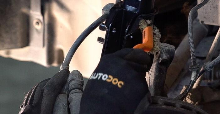 Federn am FIAT BRAVO II (198) 2.0 D Multijet 2011 wechseln – Laden Sie sich PDF-Handbücher und Videoanleitungen herunter
