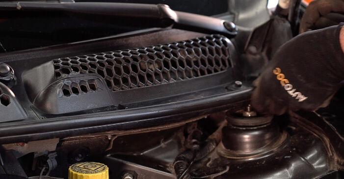 Wie FIAT BRAVA 1.4 LPG 2010 Federn ausbauen - Einfach zu verstehende Anleitungen online