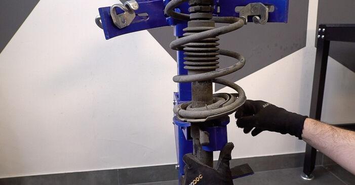 SCÉNIC II (JM0/1_) 2.0 2006 Springs DIY replacement workshop manual