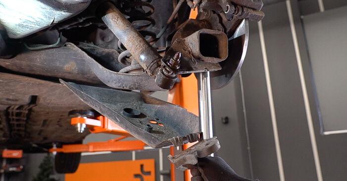 Ar sudėtinga pasidaryti pačiam: Renault Scenic 2 1.9 dCi 2009 Spyruoklės keitimas - atsisiųskite iliustruotą instrukciją