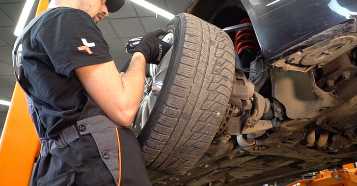 Changing Springs on ALFA ROMEO 159 Sportwagon (939) 1.9 JTDM 8V 2008 by yourself